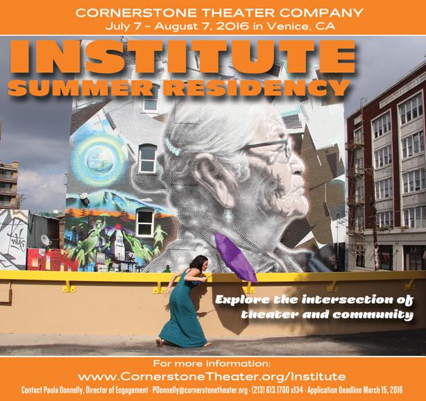 Institute 2016 header