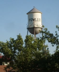 Fowler Water Tower