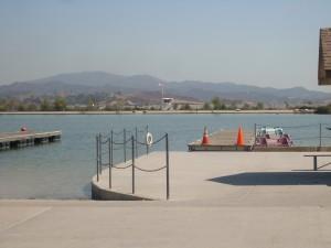 Hansen Dam Lake
