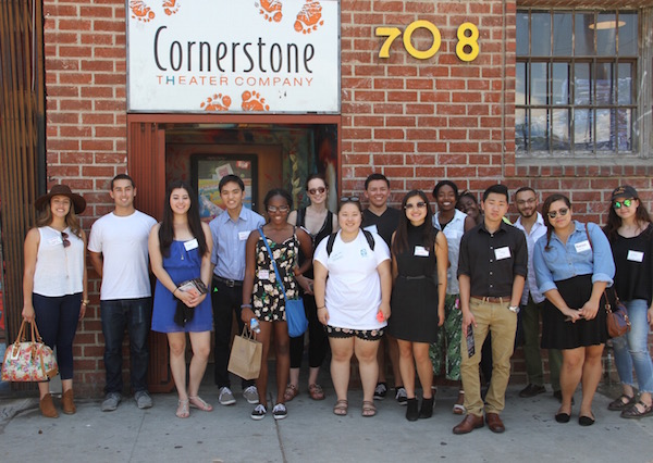 As part of our second Learning Community Event, the Downtown Interns got to tour the Arts District on July 30, 2015.